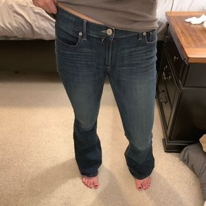 Express size 10R slim flare jeans!